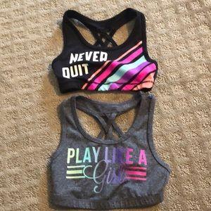 Ideology girls sports bras